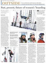 Women's professional snowboarding story, Summit Daily News. http://bit.ly/2zTHxQa