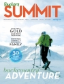 [Photo/Sebastian Foltz] Explore Summit magazine winter 2014/2015 cover shot.