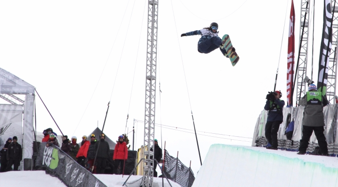 Clark, Kim, Gold leading charge in women's snowboard halfpipe