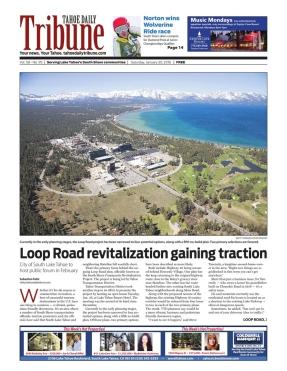 South Lake Tahoe proposed urban revitalization plans, Tahoe Daily Tribune. http://bit.ly/2xqrUvt