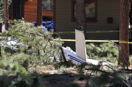 South Lake Tahoe Plane Crash